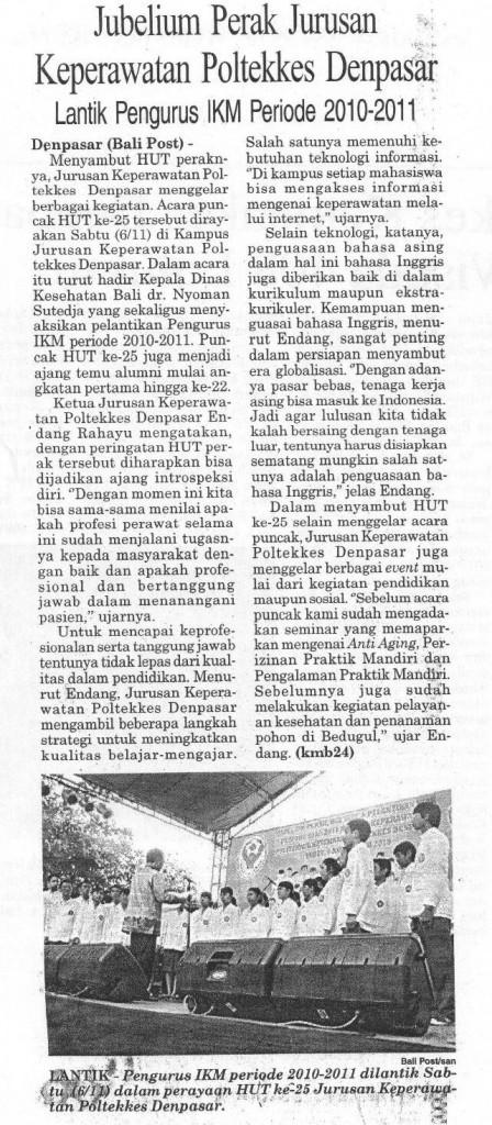 BaliPost,08-11-2010,Jubelium Perak JKP
