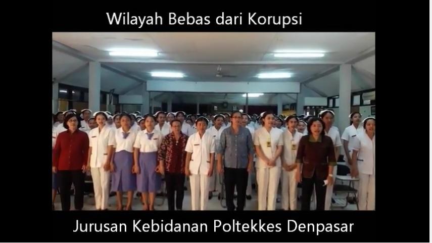 Wilayah Bebas dari Korupsi Jurusan Kebidanan Poltekkes Denpasar