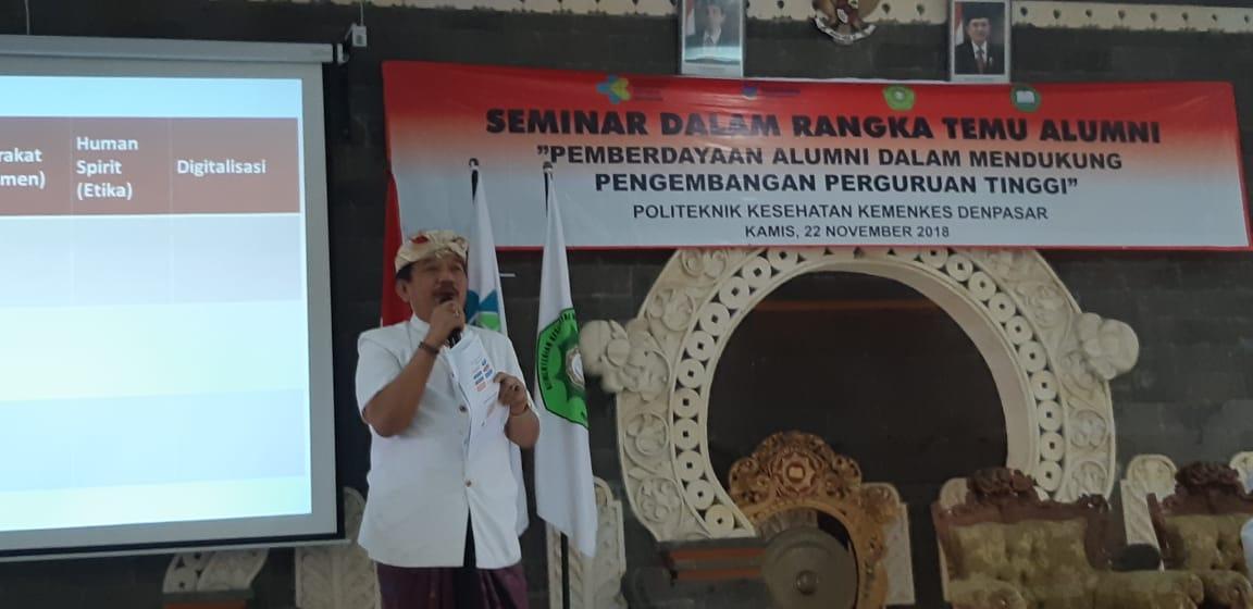 Seminar Temu Alumni Poltekkes Denpasar Tahun 2018