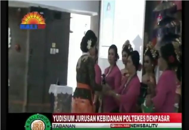 YUDISIUM JURUSAN KEBIDANAN POLTEKES DENPASAR TAHUN 2018