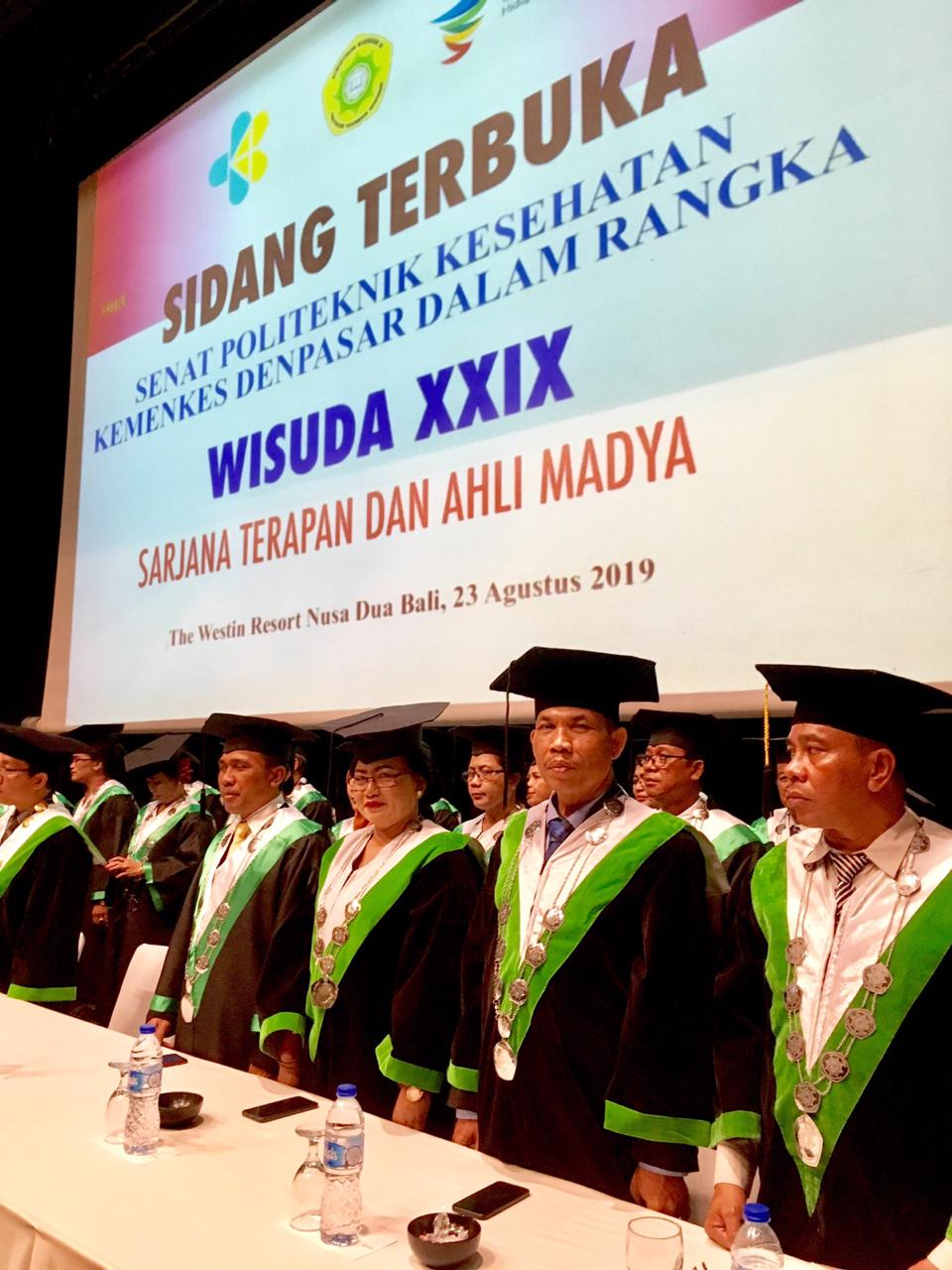 Wisuda XXIX Poltekkes Kemenkes Denpasar