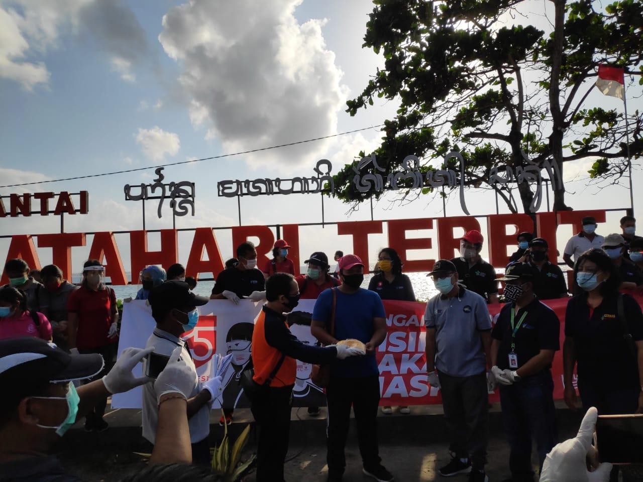 Gerakan Berbagi Sejuta Masker di Bali